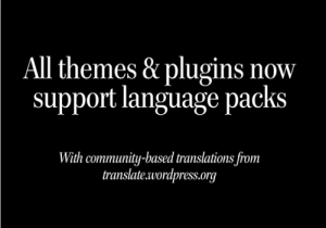 changes in wordpress themes and plugins