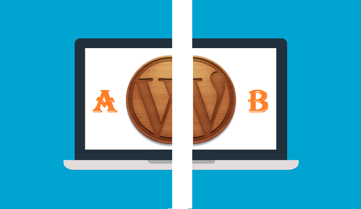AB testing in wordpress