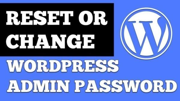 6 Ways To Change WordPress Admin Password